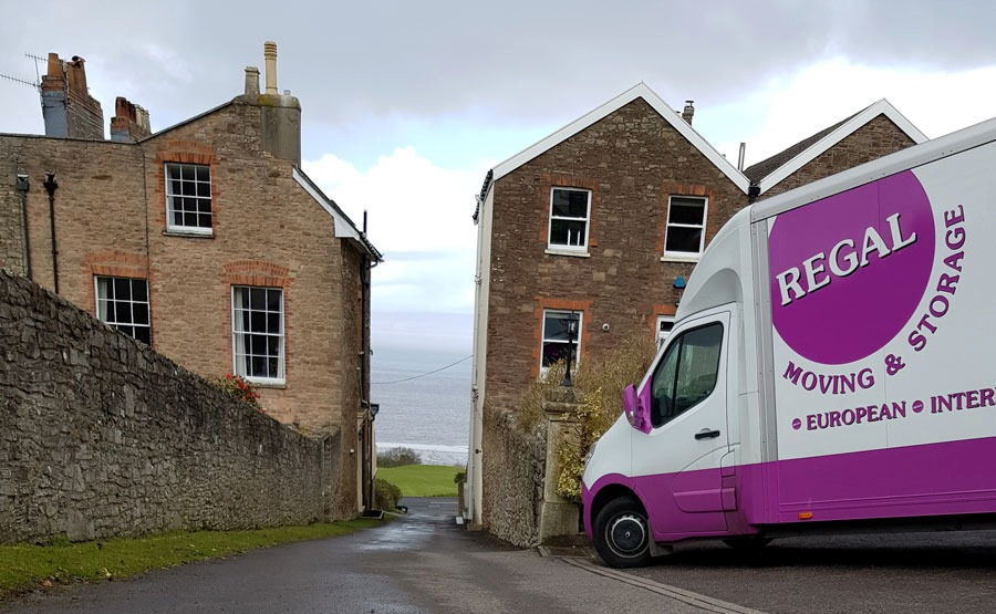 Regal Van moving home